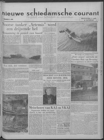 Nieuwe Schiedamsche Courant 1958-06-09