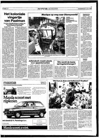Het Vrije volk 1988-07-07
