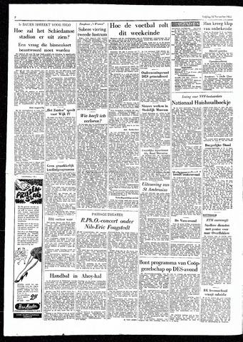 Rotterdamsch Parool / De Schiedammer 1955-11-18