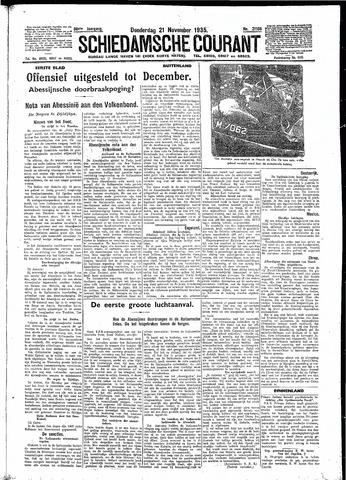 Schiedamsche Courant 1935-11-21