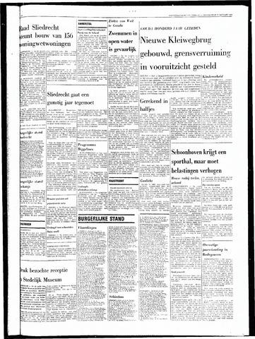 Rotterdamsch Nieuwsblad / Schiedamsche Courant / Rotterdams Dagblad / Waterweg / Algemeen Dagblad 1969