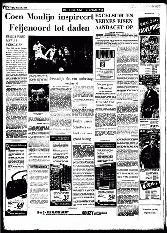 Rotterdamsch Parool / De Schiedammer 1966-11-25