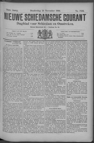 Nieuwe Schiedamsche Courant 1901-11-21