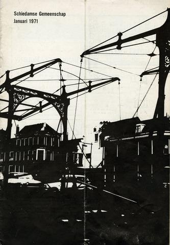 Schiedamse Gemeenschap (tijdschrift) 1971