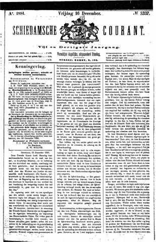 Schiedamsche Courant 1881-12-16