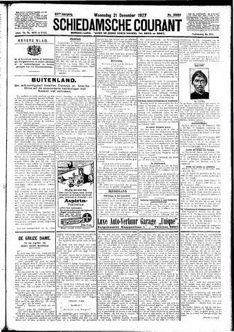Schiedamsche Courant 1927-12-21