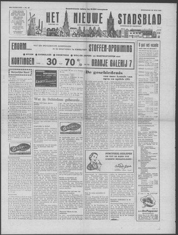 Het Nieuwe Stadsblad 1953-07-29