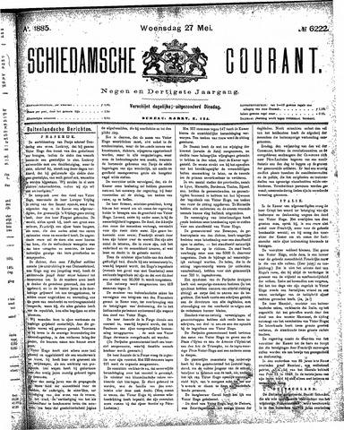 Schiedamsche Courant 1885-05-27