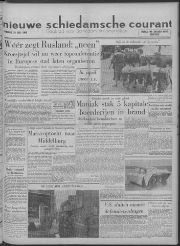 Nieuwe Schiedamsche Courant 1958-07-29
