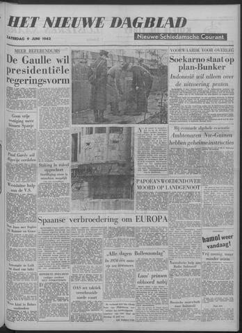 Nieuwe Schiedamsche Courant 1962-06-09