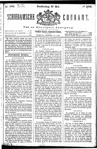Schiedamsche Courant 1881-05-19