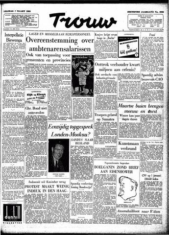 Trouw / De Rotterdammer 1958-03-07