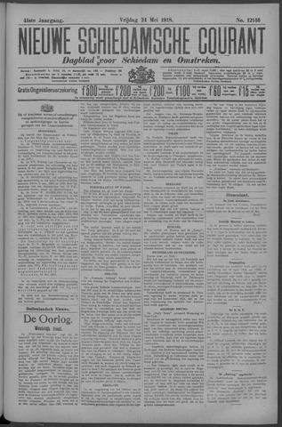 Nieuwe Schiedamsche Courant 1918-05-24