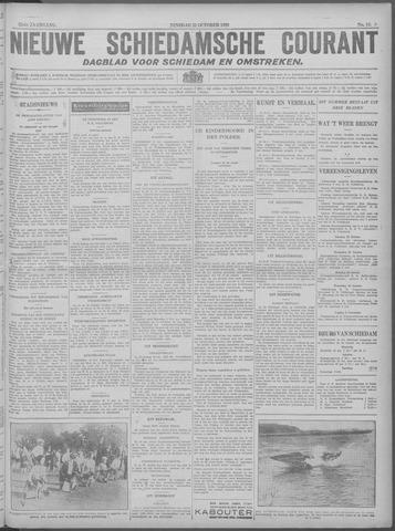 Nieuwe Schiedamsche Courant 1929-10-22