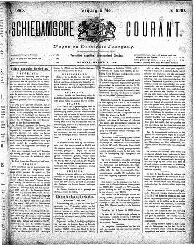 Schiedamsche Courant 1885-05-08