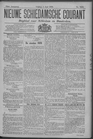 Nieuwe Schiedamsche Courant 1909-06-04