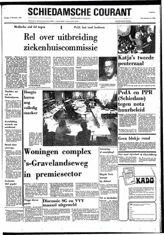 Rotterdamsch Nieuwsblad / Schiedamsche Courant / Rotterdams Dagblad / Waterweg / Algemeen Dagblad 1974-12-17
