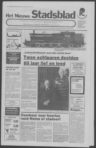 Het Nieuwe Stadsblad 1981-04-22
