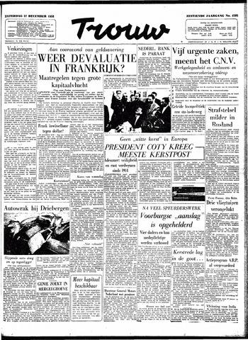Trouw / De Rotterdammer 1958-12-27
