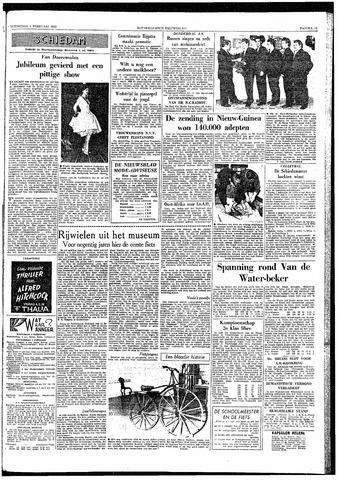 Rotterdamsch Nieuwsblad / Schiedamsche Courant / Rotterdams Dagblad / Waterweg / Algemeen Dagblad 1959-02-04