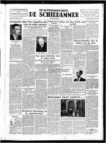 Rotterdamsch Parool / De Schiedammer 1947-09-06