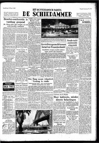 Rotterdamsch Parool / De Schiedammer 1949-03-10