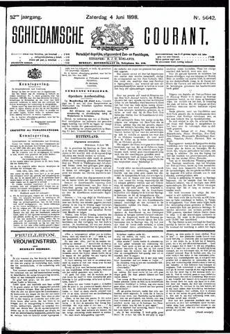 Schiedamsche Courant 1898-06-04