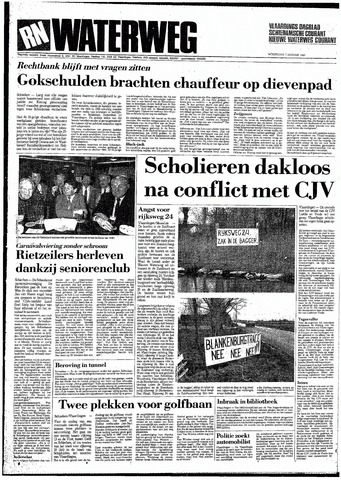 Rotterdamsch Nieuwsblad / Schiedamsche Courant / Rotterdams Dagblad / Waterweg / Algemeen Dagblad 1987-01-07
