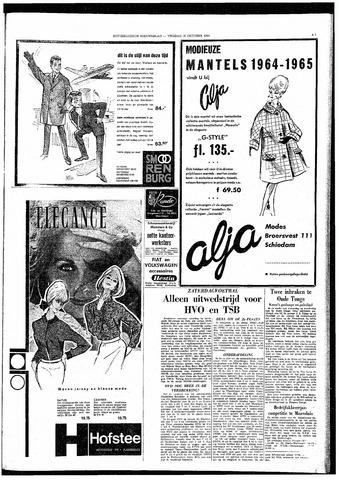 Rotterdamsch Nieuwsblad / Schiedamsche Courant / Rotterdams Dagblad / Waterweg / Algemeen Dagblad 1964-10-16