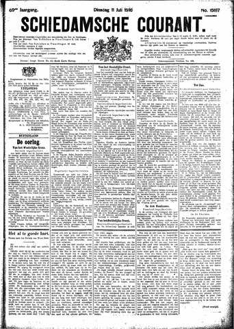 Schiedamsche Courant 1916-07-11