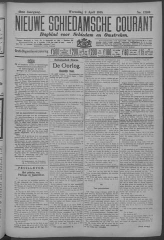 Nieuwe Schiedamsche Courant 1918-04-03