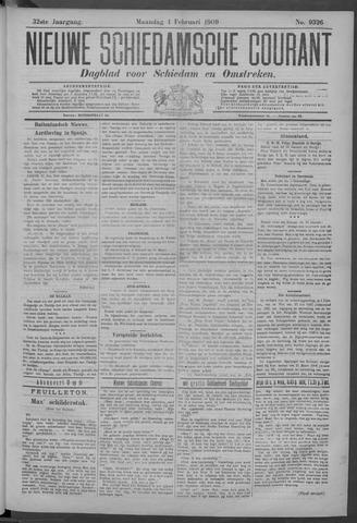 Nieuwe Schiedamsche Courant 1909-02-01
