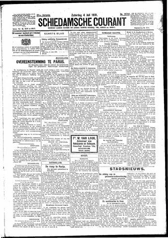Schiedamsche Courant 1931-07-04