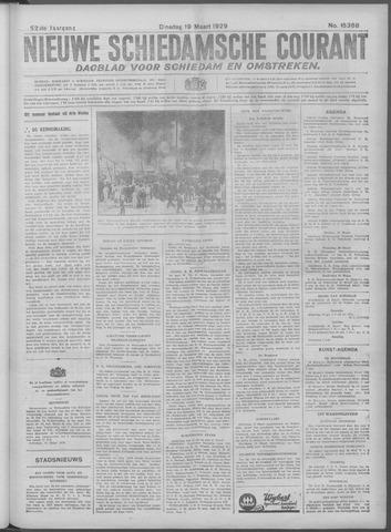 Nieuwe Schiedamsche Courant 1929-03-19