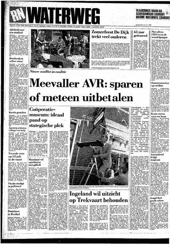 Rotterdamsch Nieuwsblad / Schiedamsche Courant / Rotterdams Dagblad / Waterweg / Algemeen Dagblad 1987-07-06