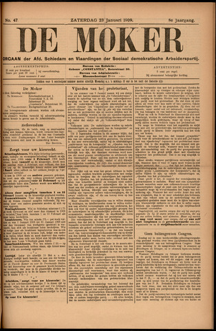 De Moker 1909-01-23