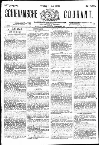 Schiedamsche Courant 1898-07-01