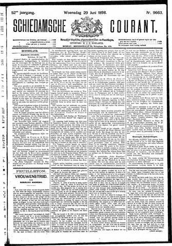 Schiedamsche Courant 1898-06-29