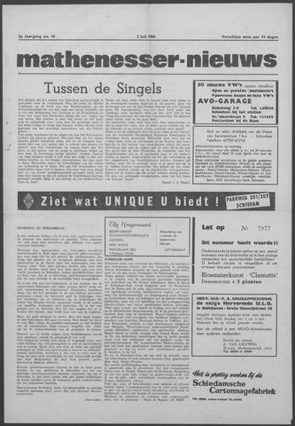 Mathenesser Nieuws 1964-07-02
