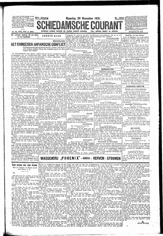 Schiedamsche Courant 1931-11-30
