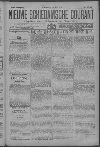 Nieuwe Schiedamsche Courant 1918-05-29