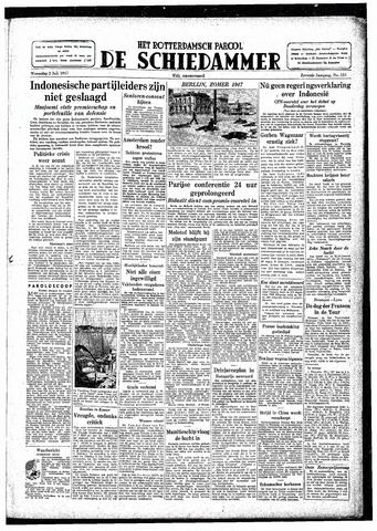 Rotterdamsch Parool / De Schiedammer 1947-07-02