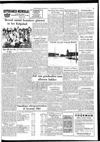 Rotterdamsch Nieuwsblad / Schiedamsche Courant / Rotterdams Dagblad / Waterweg / Algemeen Dagblad 1964-08-27