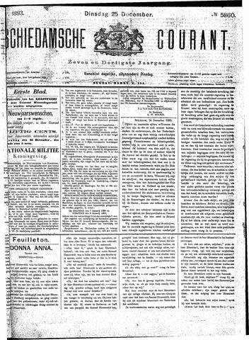 Schiedamsche Courant 1883-12-25
