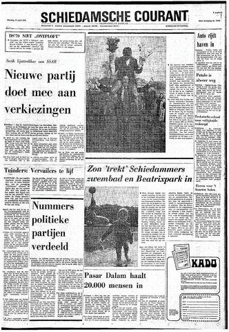 Rotterdamsch Nieuwsblad / Schiedamsche Courant / Rotterdams Dagblad / Waterweg / Algemeen Dagblad 1974-04-16