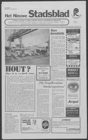 Het Nieuwe Stadsblad 1971-09-01