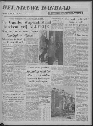 Nieuwe Schiedamsche Courant 1962-03-19