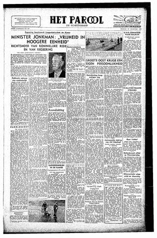 Rotterdamsch Parool / De Schiedammer 1946-12-20