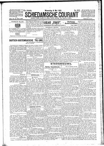 Schiedamsche Courant 1931-05-06
