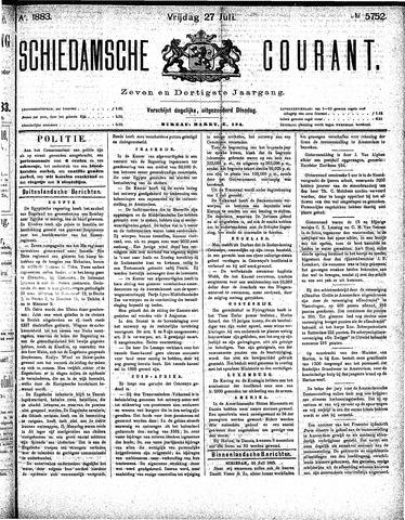 Schiedamsche Courant 1883-07-27